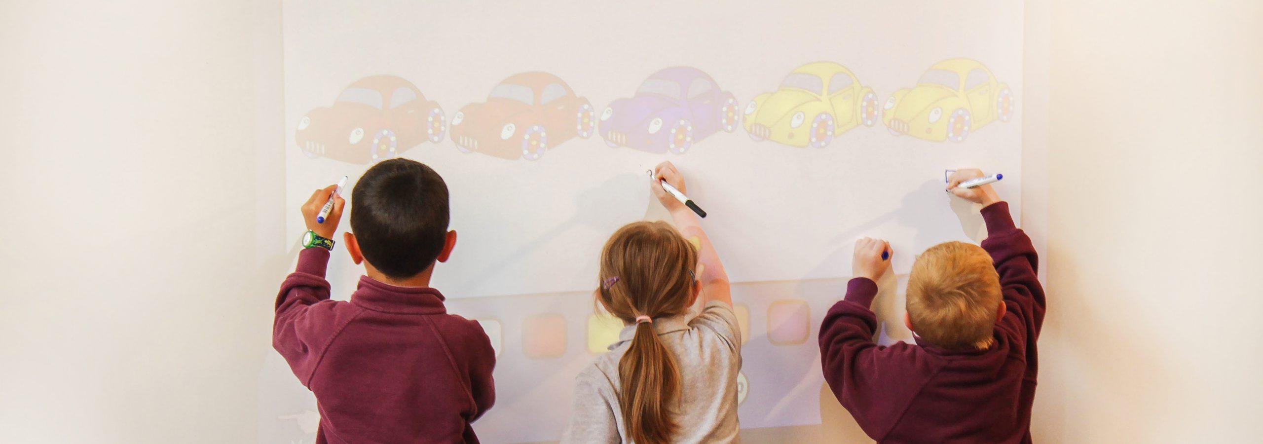Piirrettävät pinnat luokkahuoneessa