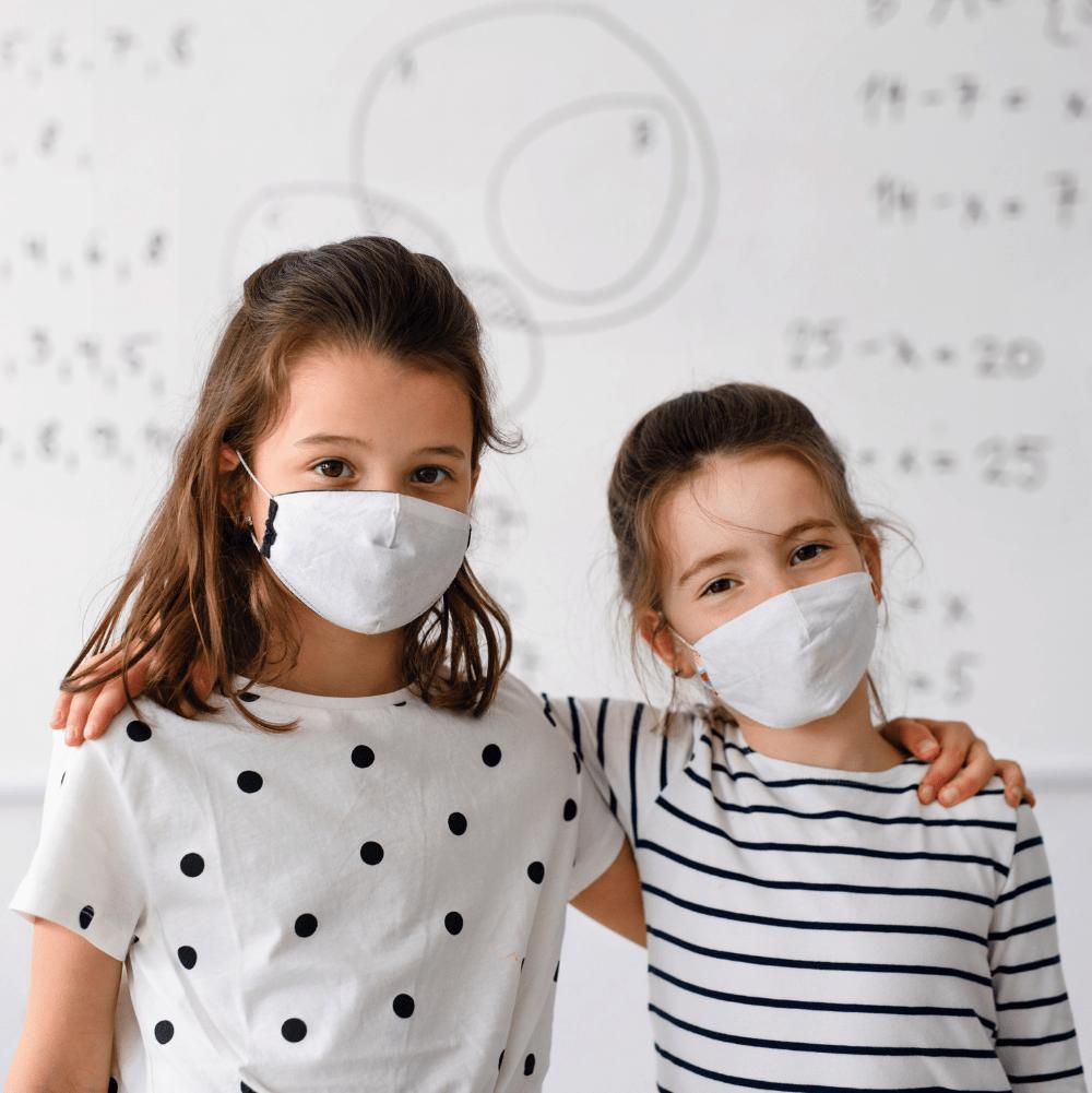 Antibakteriell whiteboard för skolan