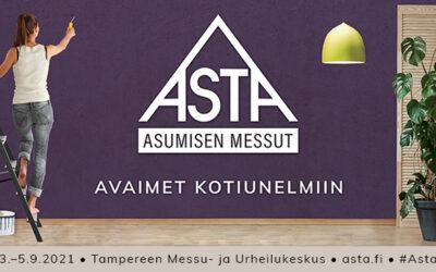 Asta-messut 2021 Tampereen Messu- ja Urheilukeskuksessa